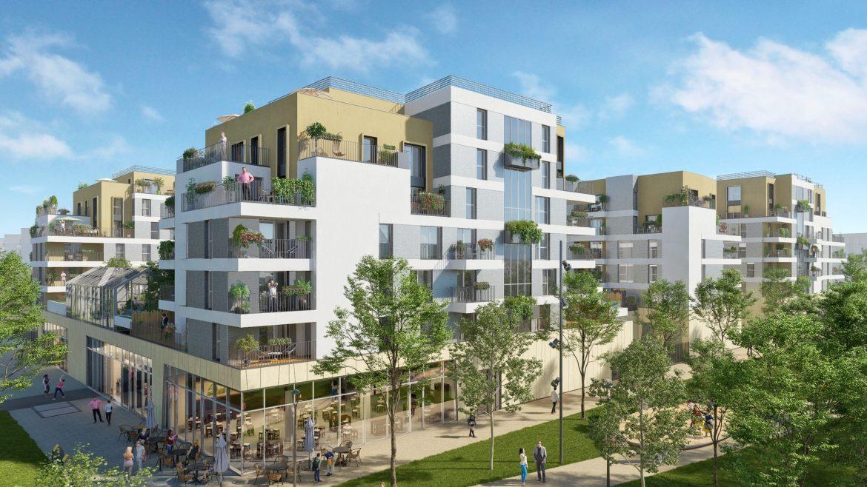 Perspective ICADE I. Architectes : Douaire - Silaire